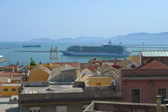 Panorama Bastione e Independence of the Seas