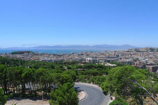 Monte Urpino panorama sulla città
