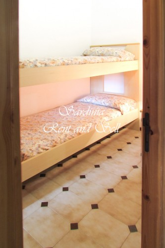 First  floor, bedroom with bunk bed